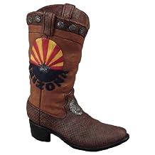 Young's Inc 10243 Resin Arizona Boot Vase, 8.25-Inch