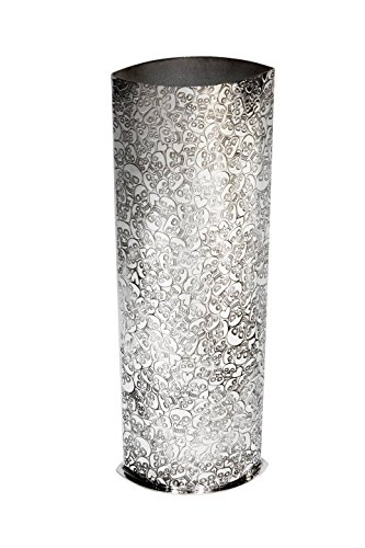 Wentworth Pewter - Love Skull Pewter Vase, Large Vase , Flower vase - H:250mm W:80mm by Wentworth Pewter
