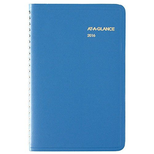 AT-A-GLANCE Weekly Appointment Book / Planner 2016, 4-7/8 x 8 Inches, Assorted Colors - Color May Vary (70-108-00) Photo #2