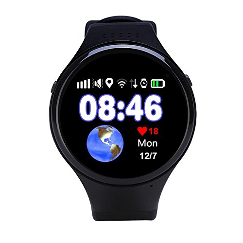 GPS Smart Watch Child Baby Watch GPS Positioning Wifi Pedometer SOS Call Location Device Tracker For Kids/Old Man Safe Anti-Lost Monitor