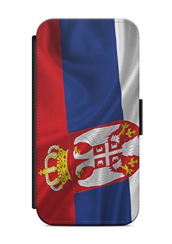 iPhone 6 6s Serbien Srbija V1 Flip Tasche Hülle Case Cover Schutz Handy