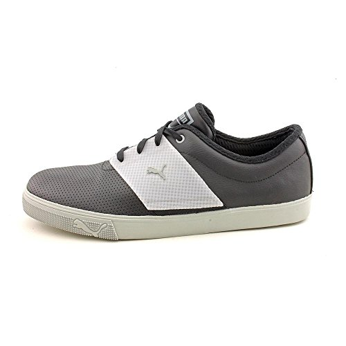 Puma El Ace T Mens Shoes Black/Limestone Gray CL5dBnQk
