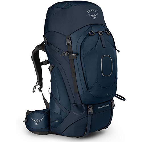Osprey Xenith 88 Hiking Backpack Medium Discovery Blue