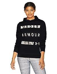 Under Armour Women's Synthetic Word Mark Fleece Pullover