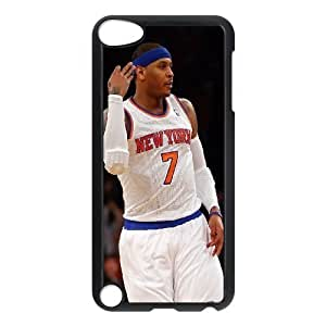 Custom High Quality WUCHAOGUI Phone case Carmelo anthony - New York Nicks Protective Case FOR Ipod Touch 5 - Case-19