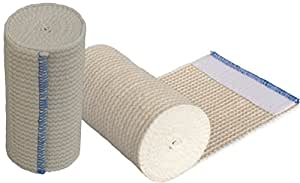 """GT® 4"""" Cotton Elastic Bandage with Hook and Loop Closure on both ends, 4 inches wide x (13 to 15 ft. when stretched), 2 Pack"""
