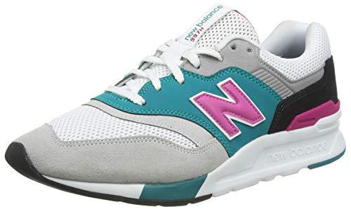 New Balance Men's 997H V1 Sneaker, Nimbus Cloud/VERDITE, 8 D US