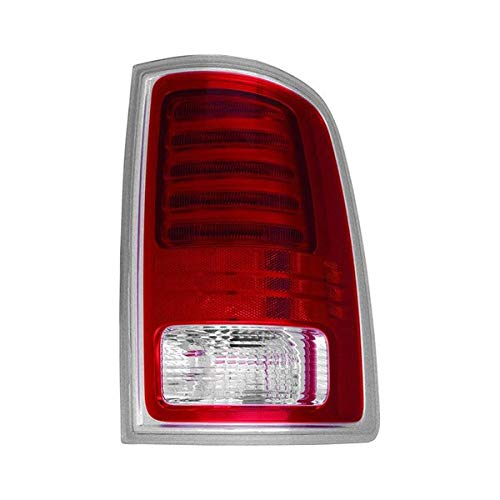 Value Rear Passenger Side Tail Lamp Assembly For Dodge Ram OE Quality Replacement