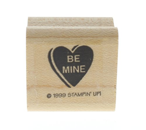 Stampin Up Be Mine Candy Heart Valentines Day Love Amore - Candy Amore