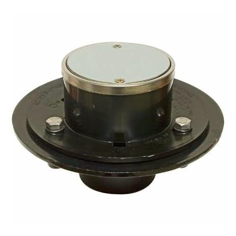 Proflo PF42943 2u0027u0027 ABS Two Piece Hot Mop Shower Drain, Stainless Steel
