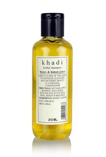 Khadi Herbal Shampoo with Honey & Lemon Juice - 210 ml