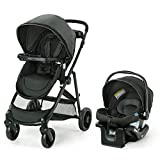 Graco Modes Element Travel System | Includes Baby Stroller with Reversible Seat, Extra Storage, Child Tray and SnugRide 35 Lite LX Infant Car Seat, Canter