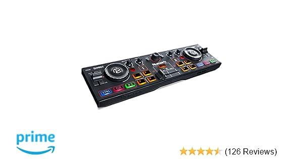 Numark DJ2GO2   Pocket DJ Controller with Audio Interface and Serato DJ  Lite Software Download