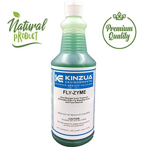 Fly-Zyme | Drain Fruit Fly Eliminator Gel | Natural Enzyme Formula | Prevents Drain Flies | High-Strength Enzyme Gel (32 oz)