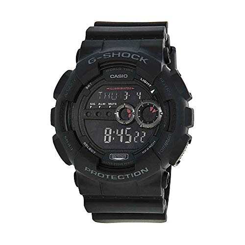 (Casio Men's GD100-1BCR G-Shock X-Large Black Multi-Functional Digital Sport W...)