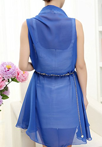 Chiffon Pc Blue Shawl Scarves Women Wrap Silk Scarf Lace 1 Funchur Girls with Ultra thin Decoration Pattern Long for Dress Op14npRq