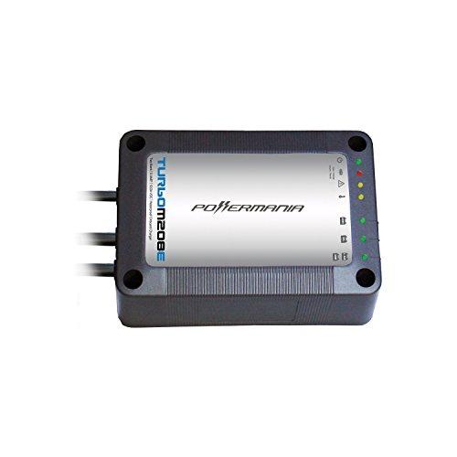 Powermania Turbo M208E waterproof battery charger (Dual Bank, 8A)
