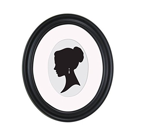 Mainstays 8x10 Matted to 5x7 Holmgren Oval Picture Frame, - Frames Oval