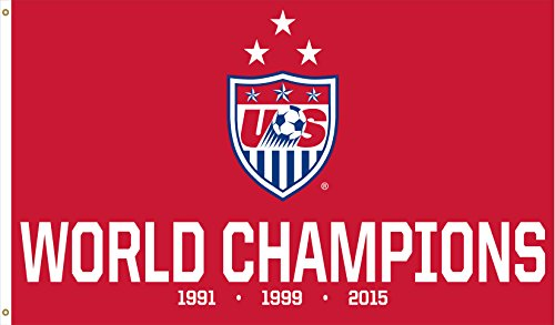 (US Women Soccer Team | World Cup Champions Flag | Close-Out Value!)