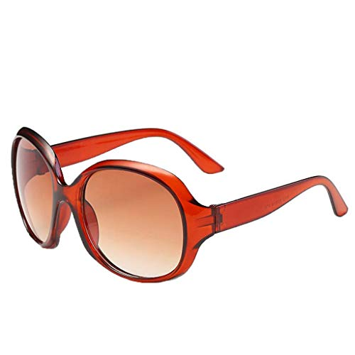 Women's Fashion Cat Eye Shade Sunglasses Integrated Stripe Vintage ()
