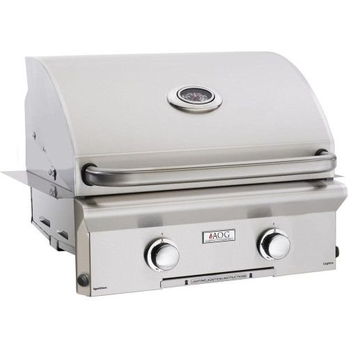 American Outdoor Grill 36NBL00SP 36'' L Series Built-In Natural Gas Grill with 648 sq. in. Grilling Surface 50000 BTU Total Main Burner Output Warming Rack and Drip Tray in Stainless by American Outdoor Grill