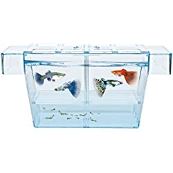 HAQOS Aquarium Fish Tank Breeder Box BX-L