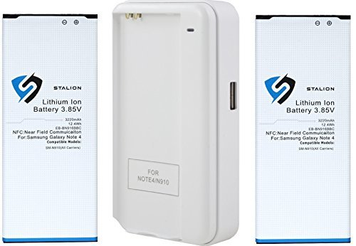 Stalion 3220mAh Battery Batteries Charger