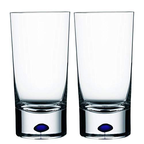 Orrefors Intermezzo Blue 8.4 Ounce Tumbler/Juice Glass, Small