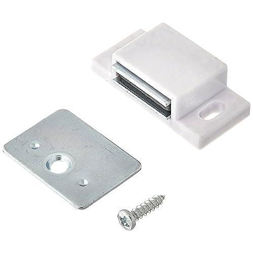 magnets amazon single hardware box white catch of retail r zinc com magnetic shutter slp pack door