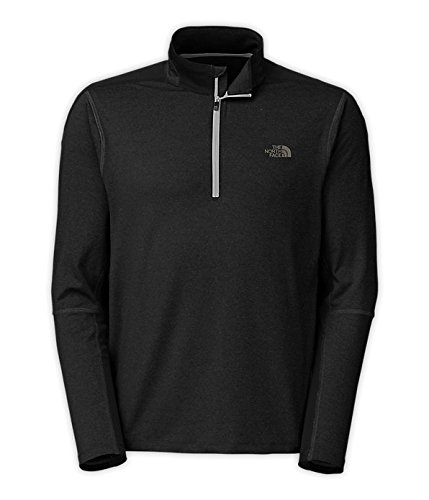 The North Face Kilowatt 1/4 Zip - Men's Asphalt Grey Heather/TNF Black 2X-Large