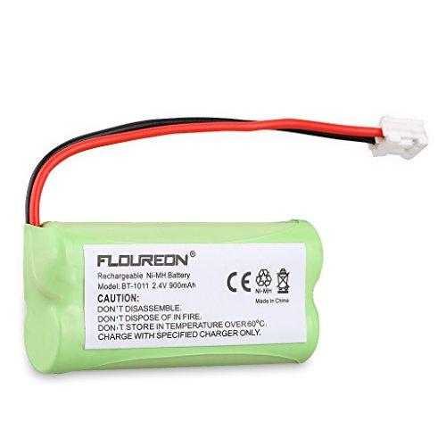 Floureon 2 Packs Rechargeable Cordless Phone Batteries for BT1011 BT-1011 BT1018 BT-1018 BT1022 BT-1022 BT184342 BT284342 BT18433 BT28433