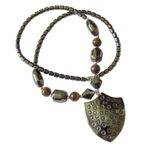 Healing Hematite Necklace Tigereye Knights product image