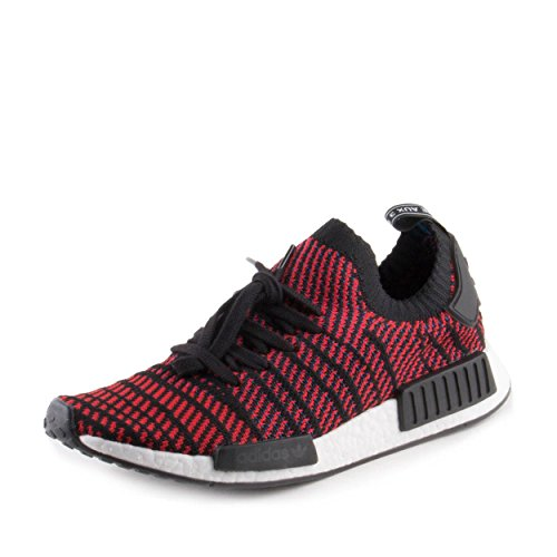 6eb757f405554 adidas NMD R1 STLT Primeknit In Core Black Solid Red by