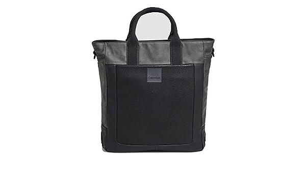 657a8300d75 Calvin Klein JEANS - Bolso de asas para mujer gris ICONIC  Amazon.es   Zapatos y complementos
