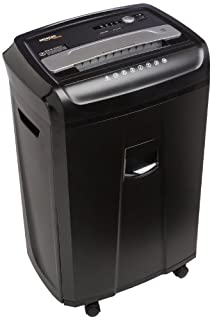 AmazonBasics 24-Sheet Cross-Cut Paper, CD, and Credit Card Shredder with Pullout Basket (B00HFJWMV4) | Amazon Products