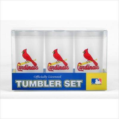 Nfl Tumbler Drinkware Set - St. Louis Cardinals MLB Tumbler Drinkware Set (3 Pack)