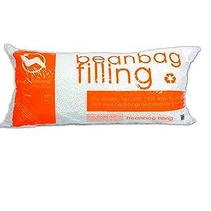100% Virgin Bean Popped Polystyrene Bean Bag Refill, 3.5 Cubic Feet (1)