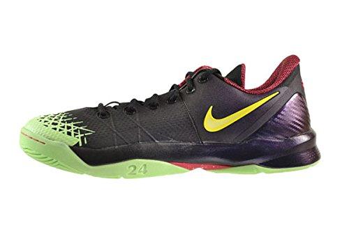 Nike Zoom Kobe Venomenon 4 La Chinatownmens Chaussures Noir / Citron Chiffon-crt Violet 635578-003