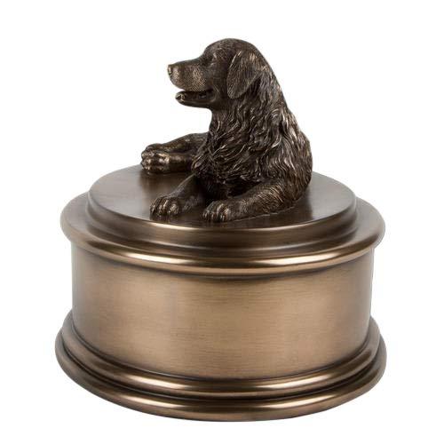 Perfect Memorials Custom Engraved Golden Retriever Figurine Cremation Urn by Perfect Memorials (Image #5)