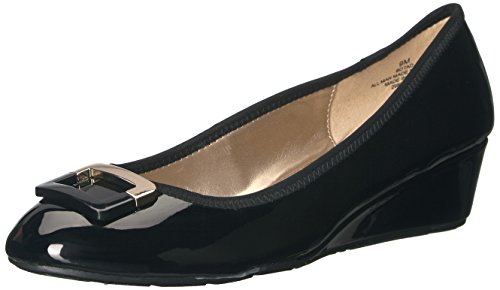 Bandolino Women's Tad Wedge Pump, Black, 7 M US