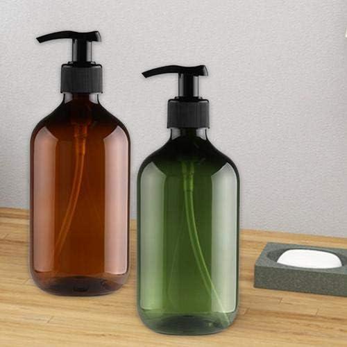 QueenHome 4 Botellas de 500 ml de plástico vacío, Botella de ...