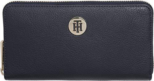 Tommy Hilfiger Th Core Lrg Za Wallet, Women's Blue (Corporate), 2.5x10x19 cm (B x H T)
