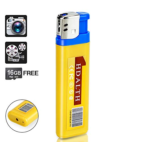 16GB Mini Hidden Camera Pocket Camcorder with Sound Activated Video Recording and Photo Taking Function