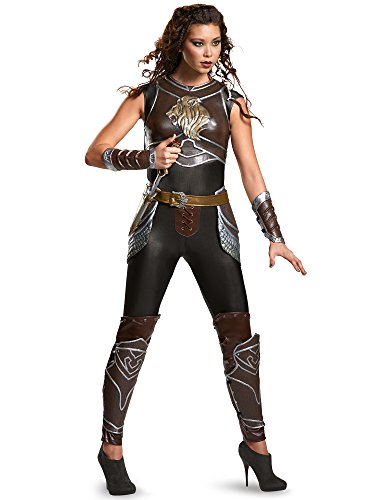 Disguise Women's Warcraft Garona Prestige Costume, Multi -