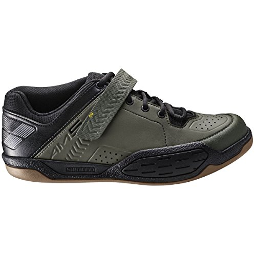 Shimano Men's Sh-Am5 Mountain Bike Shoe, Army Green, 48