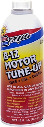 Berryman 0316 B-12 Motor Tune-up for Gas and Diesel, 16 oz. Easy Pour-In Can by Berryman Products