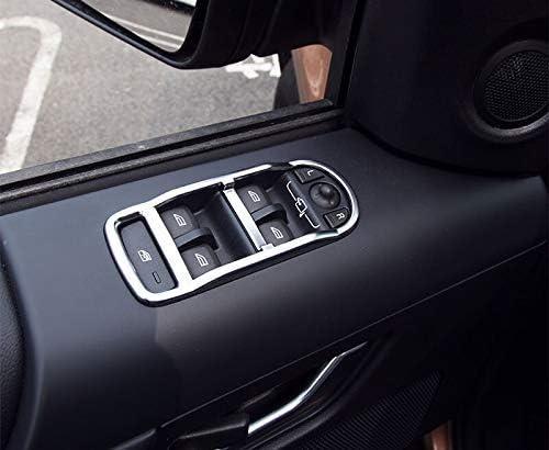 Fenster YIWANG ABS-Chrom-Abdeckung f/ür Autot/ür Auto-Zubeh/ör 2015 4 St/ück f/ür Freelander 2 2008