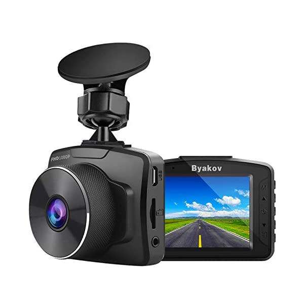 Byakov Upgraded Dash Cam 2 Inch LCD Screen 1080P Full HD Dash Camera for Cars with...