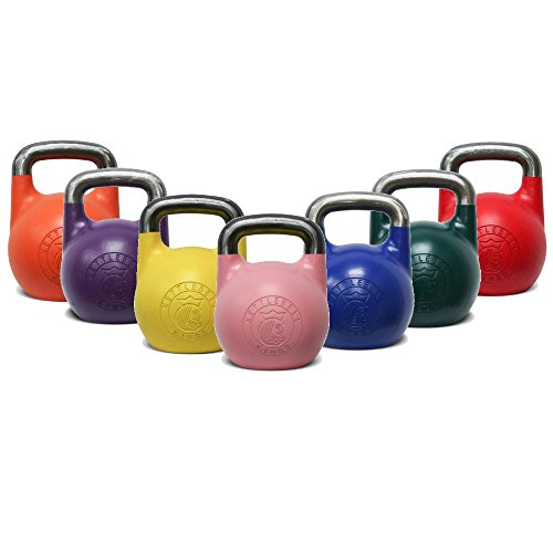 Kettlebell Kings | Competition Kettlebell Complete Set | Designed for Comfort During High Repetition Movements and Exercise