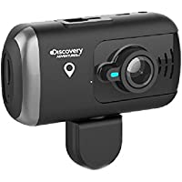Discovery DS990 Dual Dash Camera with GPS Full HD 1080P Covert Mini Video Car DVR, 170 Degree Super Wide Angle 6G Lens with G-Sensor, WDR Night Vision, Motion Detection, 32 GB Capacity
